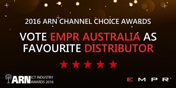 Vote for EMPR Australia in 2016 ARN Channel Choice Awards